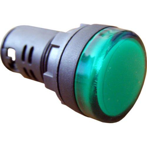 Фото Арматура AD22-22DS зеленая 220V AC Электробаза