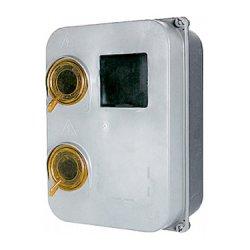 Шафа пластикова e.mbox.stand.plastic.n.f3, під трифазний лічильник, навісна, з комплектом метизів