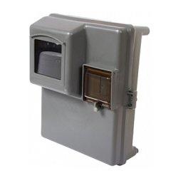 Шафа пластикова КДЕ-1 під однофазний лічильник, навісна