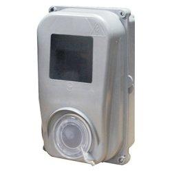 Шафа пластикова e.mbox.stand.plastic.n.f1 під однофазний лічильник, навісна, з комплектом метизів