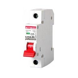 Однополюсный автоматический выключатель 1р, 25А, C, 6кА new, e.mcb.pro.60.1.C 25 new