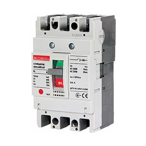 Фото Шкафной автоматический выключатель, 3р, 32А, А, 10 кА, e.industrial.ukm.60S.32 Электробаза