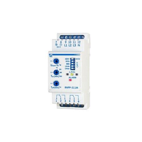 Фото Реле контроля напряжения и контроля фаз РНПП 311М Электробаза