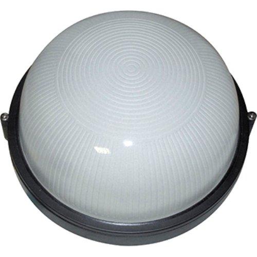 Светильник настенный накладной 1х100W IP44 010 черный