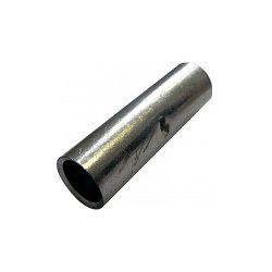 Гильза соединительная под опрессовку медная сечение 2,5 мм.кв. (100 шт./уп.) e.tube.stand.gty.2.5