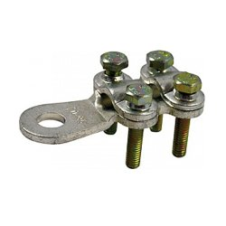 Кабельные наконечники CLAMP на винтах, сечение 120-150 мм.кв.,e.end.stand.clamp.120.150