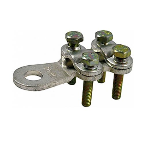 Фото Кабельные наконечники CLAMP на винтах, сечение 16-25 мм.кв., e.end.stand.clamp.16.25 Электробаза