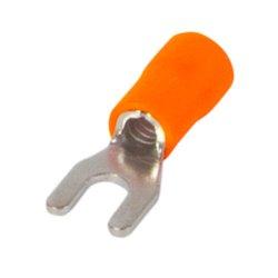 Наконечник кабельный вилочный изолированный 1.5-2.5 мм.кв., оранжевый e.terminal.stand.sv.2.3,2.orange