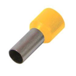 Наконечник кабельный втулочный изолированный 0.5 мм.кв., желтый e.terminal.stand.e0508.yellow
