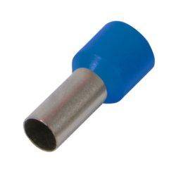 Наконечник кабельный втулочный изолированный 10.0 мм.кв., синий e.terminal.stand.e10-12.blue