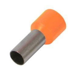 Наконечник кабельный втулочный изолированный 10.0 мм.кв., оранжевый e.terminal.stand.e10-12.orange