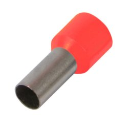 Наконечник кабельный втулочный изолированный 10.0 мм.кв., красный e.terminal.stand.e10-12.red