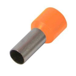 Наконечник кабельный втулочный изолированный 1.0 мм.кв., оранжевый e.terminal.stand.e1008.orange