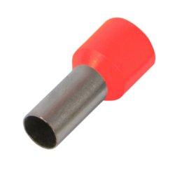 Наконечник кабельный втулочный изолированный 1.0 мм.кв., красный e.terminal.stand.e1008.red