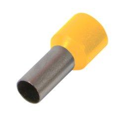 Наконечник кабельный втулочный изолированный 1.0 мм.кв., желтый e.terminal.stand.e1008.yellow
