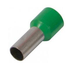 Наконечник кабельный втулочный изолированный 1.0 мм.кв., зеленый e.terminal.stand.e1012.green