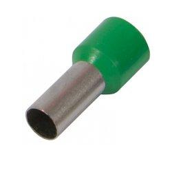 Наконечник кабельный втулочный изолированный 1.5 мм.кв., зеленый e.terminal.stand.e1508.green
