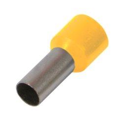 Наконечник кабельный втулочный изолированный 1.5 мм.кв., желтый e.terminal.stand.e1508.yellow