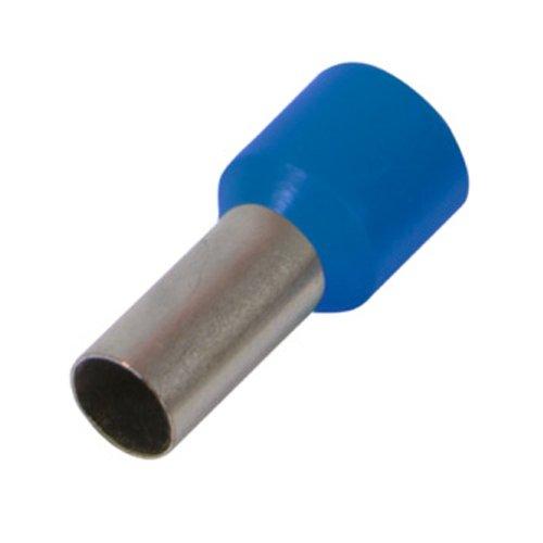 Фото Наконечник кабельный втулочный изолированный 2.5 мм.кв., синий e.terminal.stand.e2508.blue Электробаза