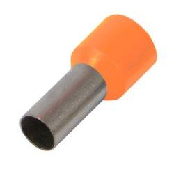Наконечник кабельный втулочный изолированный 2.5 мм.кв., оранжевый e.terminal.stand.e2508.orange