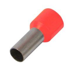 Наконечник кабельный втулочный изолированный 2.5 мм.кв., красный e.terminal.stand.e2508.red