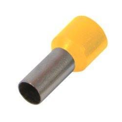 Наконечник кабельный втулочный изолированный 2.5 мм.кв., желтый e.terminal.stand.e2508.yellow