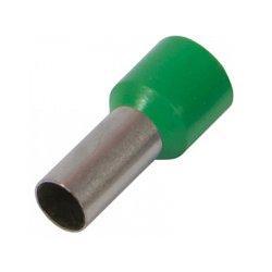 Наконечник кабельный втулочный изолированный 4.0 мм.кв., зеленый e.terminal.stand.e4009.green