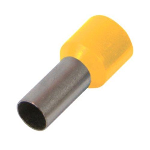 Фото Наконечник кабельный втулочный изолированный 4.0 мм.кв., желтый e.terminal.stand.e4009.yellow Электробаза