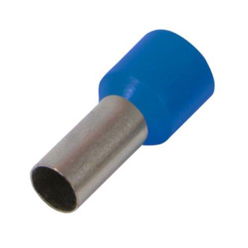 Фото Наконечник кабельный втулочный изолированный 6.0 мм.кв., синий e.terminal.stand.e6012.blue Электробаза