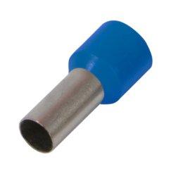 Наконечник кабельный втулочный изолированный 0.75 мм.кв., синий e.terminal.stand.e7508.blue