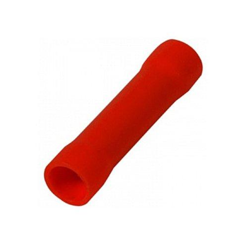Фото Гильза соединительная изолированная 0.5-1.5 мм.кв., красная e.splice.stand.bv.1.red Электробаза