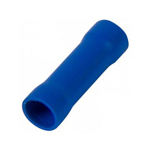 Фото Гильза соединительная изолированная 1.5-2.5 мм.кв., синяя e.splice.stand.rvt.2.blue Электробаза