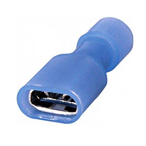 Фото Наконечник кабельный соединительный изолированный серии FN 1.5-2.5 мм.кв., синий (мама) (fn.f.1,5.2,5) e.terminal.stand.fdfn2.250.blue Электробаза