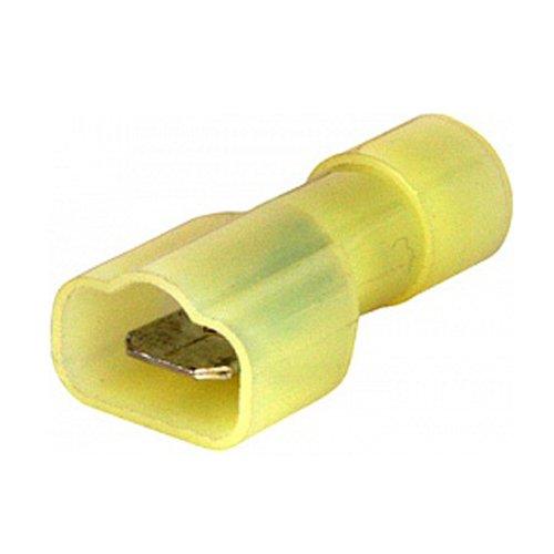 Фото Наконечник кабельный соединительный изолированный серии FN 4-6 мм.кв., желтый (папа) (fn.m.4.6)e.terminal.stand.mdfn5.5.250.yellow Электробаза