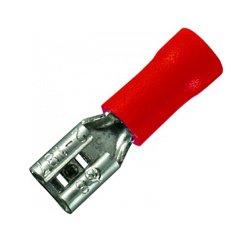 Наконечник кабельный штыревой изолированный 0.5-1.5 мм.кв. (dd.f.0,5.1,5) e.terminal.stand.fdd1.25.110.8