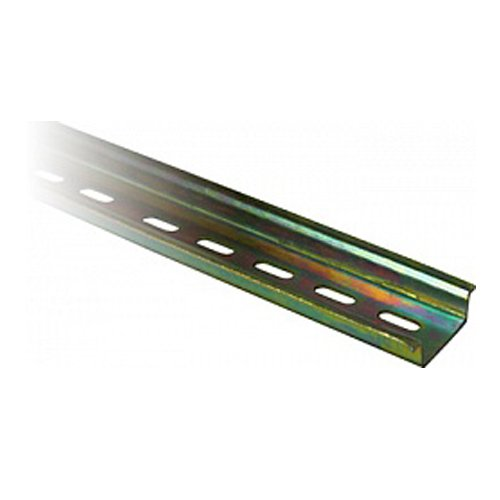 Фото DIN рейка 1м, перфорированная, e.din.stand.rail.101 Электробаза