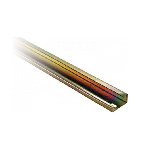 Фото DIN рейка G-образная, неперфорированная, 1м, глубина 15мм, товщина 1.5мм e.din.stand.rail.302 Электробаза