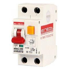 Дифферинциальный автоматический выключатель 2р, 20А, С, 300мА e.industrial.elcb.2.C20.300