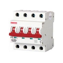 Четырёхполюсный автоматический выключатель, 4 р, 25А, C, 10кА, e.industrial.mcb.100.4.C25