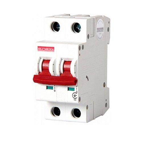 Фото Двухполюсный автоматический выключатель, 1р+N, 32А, C, 10кА, e.industrial.mcb.100.1N.C32 Электробаза