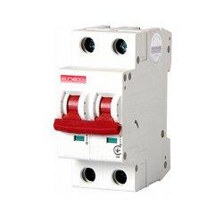 Двухполюсный автоматический выключатель, 1р+N, 40А, C, 10кА, e.industrial.mcb.100.1N.C40