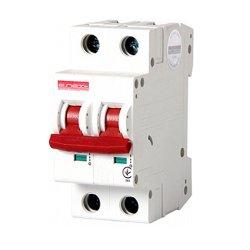 Двухполюсный автоматический выключатель, 1р+N, 50А, C, 10кА, e.industrial.mcb.100.1N.C50