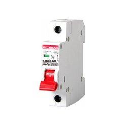 Однополюсный автоматический выключатель 1р, 2А, В, 6кА, new, e.mcb.pro.60.1.B 2 new