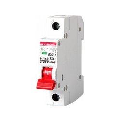 Однополюсный автоматический выключатель 1р, 50А, В, 6кА, new, e.mcb.pro.60.1.B 50 new