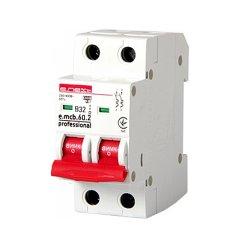 Двухполюсный автоматический выключатель 2р, 32А, В, 6кА, new, e.mcb.pro.60.2.B 32 new