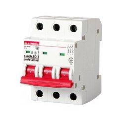 Трёхфазный автоматический выключатель 3р, 10А, В, 6кА, new, e.mcb.pro.60.3.B 10 new