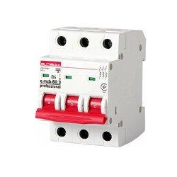 Трёхфазный автоматический выключатель 3р, 6А, В, 6кА, new, e.mcb.pro.60.3.B 6 new