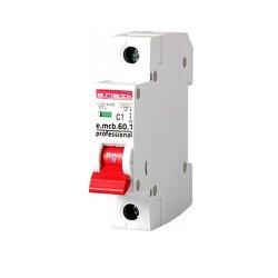 Однополюсный автоматический выключатель 1р, 1А, C, 6кА new, e.mcb.pro.60.1.C 1 new