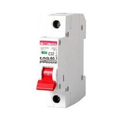 Однополюсный автоматический выключатель 1р, 32А, C, 6кА new, e.mcb.pro.60.1.C 32 new