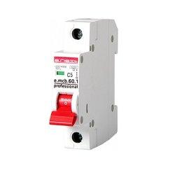 Однополюсный автоматический выключатель 1р, 5А, C, 6кА new, e.mcb.pro.60.1.C 5 new